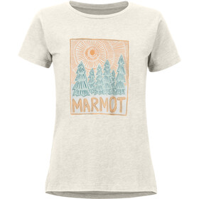 Marmot Woodblock T-shirt Femme, turtledove heather